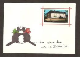 Une Grosse Bise De La BOUXIERE (35 ) - France