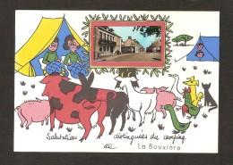 Salutations Distinguées Du Camping De La BOUXIERE (35 ) - France
