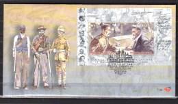 2002   Traité De Fin De La Guerre Des Boers Sur Enveloppe, BF 84 Sur FDC - Afrique Du Sud (1961-...)