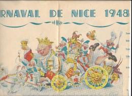 CARNAVAL DE NICE 1948 - Affiches