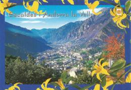 Vallées Des Escaldes En Andorre, Carte Postale Neuve, Non Circulée. - Andorre