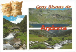 Gros Bisous D'Andorre, Carte Postale Neuve, Non Circulée. - Andorra