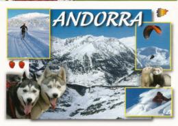 Souvenirs D'Andorre L'hiver, Carte Postale Neuve, Non Circulée. - Andorra