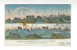 ( SURREALISME  -  Paysage Humanisé ) Jura Alpes Mont-Blanc Pilatus ... Traumbild  Eines Belchenbesteigers .... - Non Classificati