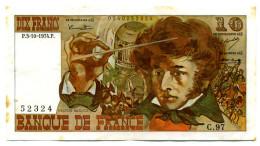 10 FRANCS BERLIOZ 1974 Série C.97 - 1962-1997 ''Francs''