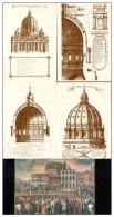 VATICANO 1990 - N°4  C. P. Da £.650 - 400° Ann. Della Costruzione Cupola Di S. Pietro In Cofanetto - Postal Stationeries