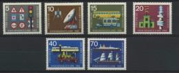 ALLEMAGNE FEDERALE  Exposition Internationale Des Transports Münich   N° Y&T 340 à 345 ** - Unused Stamps