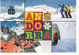 L'Andorre L'Hiver, Carte Postale Neuve, Non Circulée. - Andorra