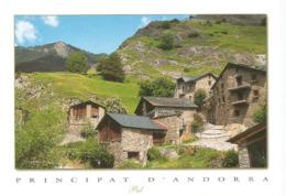 Village De Pal, Le Plus Beau Village D'Andorre, Carte Postale Neuve, Non Circulée. - Andorra