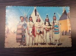 AK  Indianer INDIAN MAIDNES  PHOTO FREE LANCE PHOTOGR.,CANADA,ONTARIO,CORNWALL, ANSICHTSKARTEN - Indianer