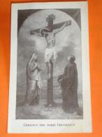 Gesù,Maria,S.Giovanni Evangel.Christus Crucifixus/santino Missioni P.Passionisti - Imágenes Religiosas