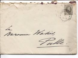 TP 255 Houyoux S/L. écritre Par Colonel BEM Baron Wahis (Théo) Aviateur C.Leopoldburg 12/5/1930 à Son Epouse PR3179 - Belgium