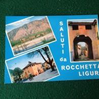 Cartolina Saluti Da Rocchetta Ligure Non Viaggiata - Alessandria