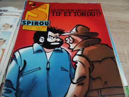 Mes Ref Spirou 1986 : Le Journal De Spirou Année 1986 Numéro 2501 - Spirou Magazine