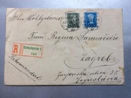 HUNGARY  SZEKESFEHERVAR R MAIL 729     1937.