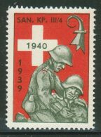 Suisse /Schweiz/Switzerland // Vignette Militaire// Sanität San.Kp. III/4No.42 - Poste Militaire