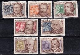 Hongrie 1953 N° Y&T :  PA 153 à 159 Obl. - Luftpost