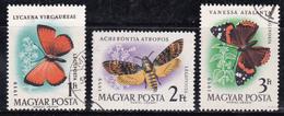 Hongrie 1959 N° Y&T :  PA 228 à 230 Obl. - Poste Aérienne
