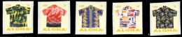 Etats-Unis / United States (Scott No.4682-86 - Aloha Shirts) (**) Set From BK - Ongebruikt