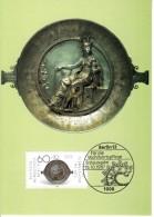 Carte Maximum Card 1987 Germany Berlin Gold And Silver Artifacts Mi 790 #20207 - [5] Berlin
