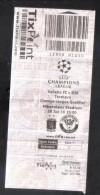 MALTA - CHAMPIONS LEAGUE -  ( ( 15 EUROS ) VALLETTA F.C. Vs TORSHAVN  MATCH TICKET - Match Tickets