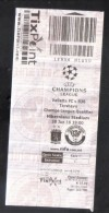 MALTA - CHAMPIONS LEAGUE - ( 10 EUROS ) VALLETTA F.C. Vs TORSHAVN  MATCH TICKET - Match Tickets