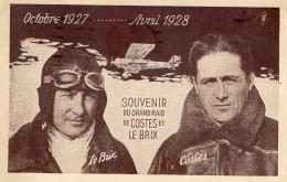Grand Raid De Costes Et Le Brix  -  CPA - Aviateurs