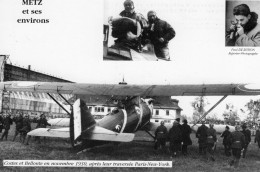 Costes Et Bellonte En Novembre 1930, Apres Leur Traversée Paris-New York   -  CPM - Aviateurs