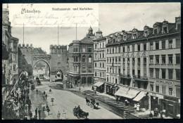 MÜNCHEN _ 11, 19.8.1902, Neuhauserstrasse,Karlsthor - Muenchen