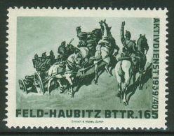 Suisse /Schweiz/Switzerland // Vignette Militaire // Artillerie - F.Hb.Bttr.165 No. 339 - Poste Militaire
