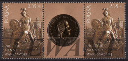 2016.01.21. 250th Anniversary Of The Warsaw Mint - MNH 1+ Label + 1 - Unused Stamps