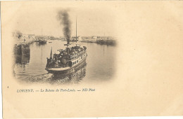 Cp Precurseur - LORIENT - Le Bateau De Port Louis    91 - Lorient