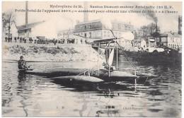 HYDROPLANE DE M. Santos Dumont - Avions