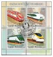 Zentralafrika / Centrafricaine   Hochgeschwindigkeitszüge O - Treni