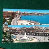 Cartolina Saluti Da Bari Viaggiata 1966 - Bari