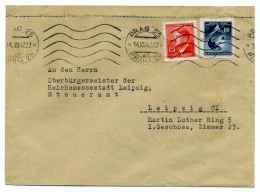 WW2 - Occupation Allemande En Bohême Et Moravie ( Bôhmen Und Mâhren ) / Michel Ref 91+94 Sur Lettre De PRAGUE / 1942 - Briefe U. Dokumente