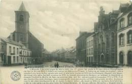 BEAUMONT - La Grand'Place, Hôtel-de-ville, Château, Eglise - Beaumont