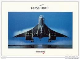 British Airways Concorde SST Postcard - 1946-....: Modern Era