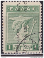 Greece 1911, Hermes, 1L, Used - Greece