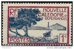 New Caledonia, 1928, Bay Of Paletuviers Point, 1c, MNG - New Caledonia