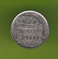 Monaco 1 Franc 1986 - Monaco