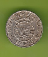 Portugal Moçambique 10 Escudos 1970 - Portugal