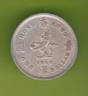 Hong Kong 1 Dollar 1960 - Hong Kong