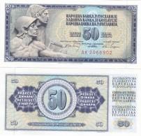 Yugoslavia - 50 Dinara 1968 UNC Lemberg-Zp - Yougoslavie