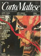 CORTO MALTESE ANNO 8 N.2 1990 INSERTO WATCHMEN RONIN MANARA - Corto Maltese