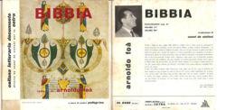 """COLLANA LETTERARIA 'BIBBIA' ARNOLDO FOA' NM/NM 7"""" - Sonstige"""