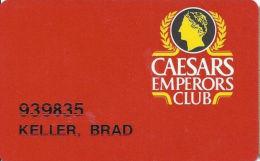 Caesars Casino Atlantic City, NJ Slot Card - No Insert Arrows - Not Punched - Casino Cards
