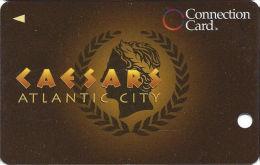 Caesars Casino Atlantic City, NJ Slot Card - Innovative Over Mag Stripe - 2 Phone#s - BLANK - Casino Cards