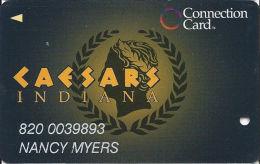 Caesars Casino Corvdon, IN Slot Card - No Text Over Wide Mag Stripe - Casino Cards