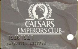 Caesars Palace Casino Las Vegas, NV Slot Card - Phone Numbers Not Aligned - Casino Cards